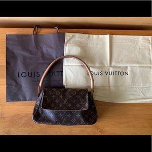 Louis Vuitton Looping Monogram Shoulder Bag